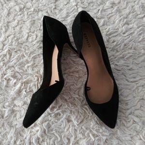 Express Shoes - Express Black Heels 9